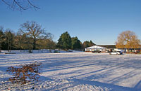 Trent Park Golf Club House winter